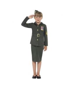 Costume petite soldat | Déguisement Enfant