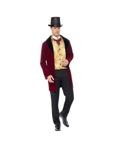 Costume gentilhomme édouardien luxe | Déguisement