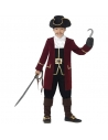 Costume capitaine pirate luxe | Déguisement Enfant
