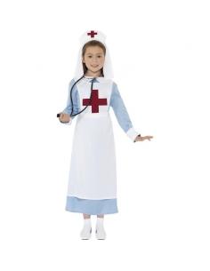 Costume infirmière 1e guerre mondiale | Déguisement Enfant