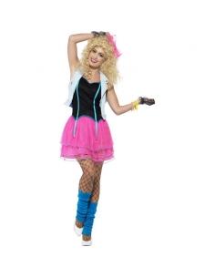 Costume fille sauvage des années 80 | Déguisement