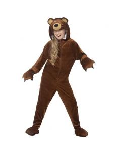 Combinaison ours à capuche | Déguisement Enfant