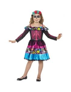 Costume jour des morts fille chérie   Déguisement Enfant