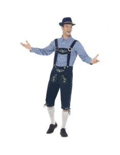 Costume traditionnel Rutger le bavarois luxe | Déguisement
