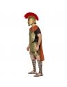 Costume de gladiateur Deluxe (costume doré avec cape,  tunique, cuirasse et jupe en latex) | Déguisement