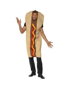 Costume hot dog géant avec ketchup | Déguisement