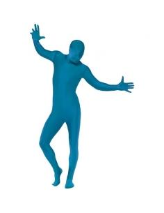 Combinaison seconde peau bleu | Déguisement
