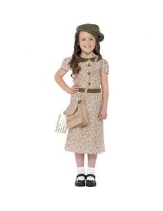 Costume fillette évacuée | Déguisement Enfant