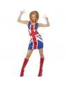 Robe drapeau Anglais femme