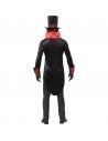 Costume Comte Dracula (veste queue de pie, haut de forme, col lavallière)