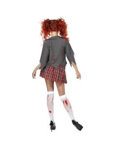 Costume zombie écolière | Déguisement