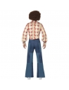 Pantalon homme patchwork denim | Déguisement