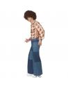 Pantalon Patte d'eph années 70 Homme (pantalon aspect jean's)