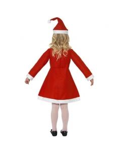 Costume petite Miss Noël | Déguisement Enfant