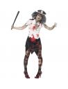 Costume zombie policière | Déguisement