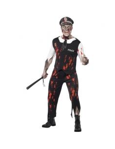 Costume zombie policier | Déguisement