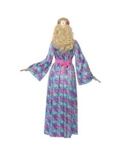 Robe longue hippie à fleurs | Déguisement