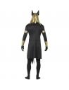 Costume Anubis (tunique, col, manchettes, brassards, et masque) | Déguisement