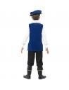 Costume enfant Tudor bleu roi   Déguisement Enfant