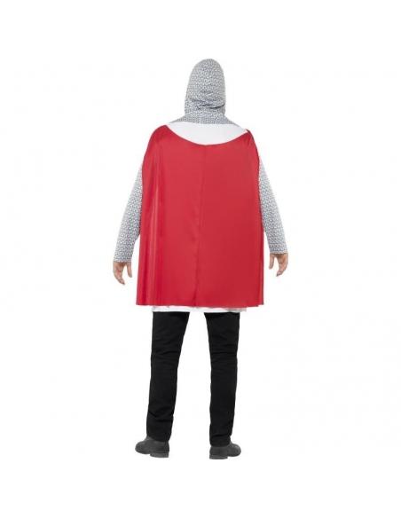 Costume chevalier blanc et rouge pas cher   Déguisement