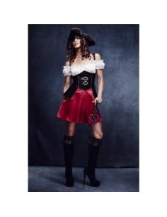 Costume jeune femme pirate | Déguisement
