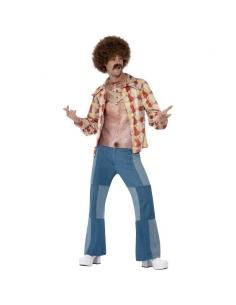 Costume torse poilu des années 70 | Déguisement