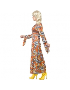 Robe longue Woodstock   Déguisement