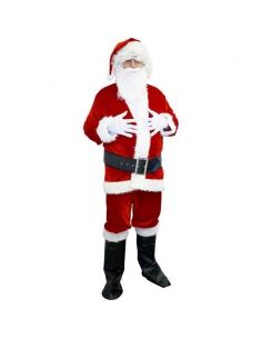 Déguisement Père Noël panne de velours | Déguisement Homme