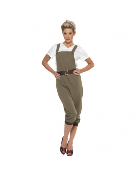 Costume fille WW2 Land | Déguisement