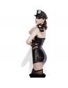 Costume policière sexy effet mouillé |