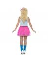 Costume fille sauvage des années 80   Déguisement
