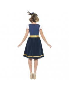 Costume traditionnel Claudia Dirndl luxe | Déguisement