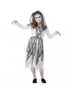 Costume mariée fantôme   Déguisement Enfant