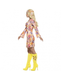 Costume hippie à fleurs | Déguisement