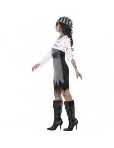 Costume zombie piratesse | Déguisement