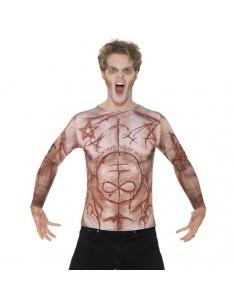 Tee-shirt peau mutilée | Déguisement
