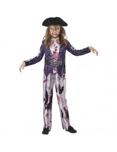 Costume fille zombie pirate   Déguisement Enfant