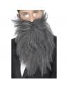 Barbe longue et moustaches grise | Accessoires