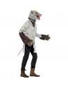 Déguisement Rat de Laboratoire (tablier blanc avec queue, masque en latex et étiquette pour le nom | Déguisement Homme