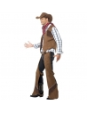 Costume cow-boy (gilet, jambières, bandana et chapeau)