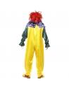Déguisement clown monstrueux jaune, homme (combinaison et masque) | Déguisement Homme