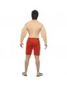Déguisement garde cote rouge avec muscles | Déguisement Homme
