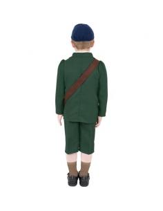 Déguisement enfant évacué Seconde guerre mondiale | Déguisement Enfant