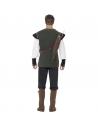 Déguisement Robin des bois vert (pantalon, chemise, ceinture avec porte flèches et sur-bottes) | Déguisement Homme