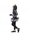 Déguisement chat squelette (robe tutu, boléro à capuche) | Déguisement Enfant