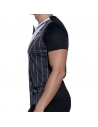 T-shirt imprimé déguisement gangster noir et blanc | Déguisement Homme