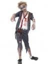 Déguisement écolier zombie, garçon (pantalon, veste, fausse chemise & cravate)   Déguisement Enfant