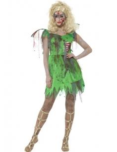 Déguisement de fée zombie vert | Déguisement
