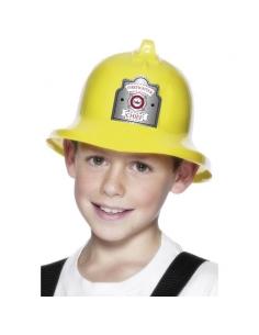 Casque de pompier jaune enfant | Accessoires