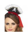 Serre-tête mini chapeau pirate | Accessoires